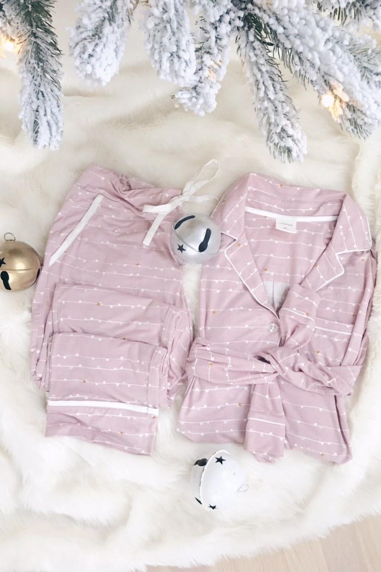 soma christmas pajama giveaway on pinterestingplans fashion blog