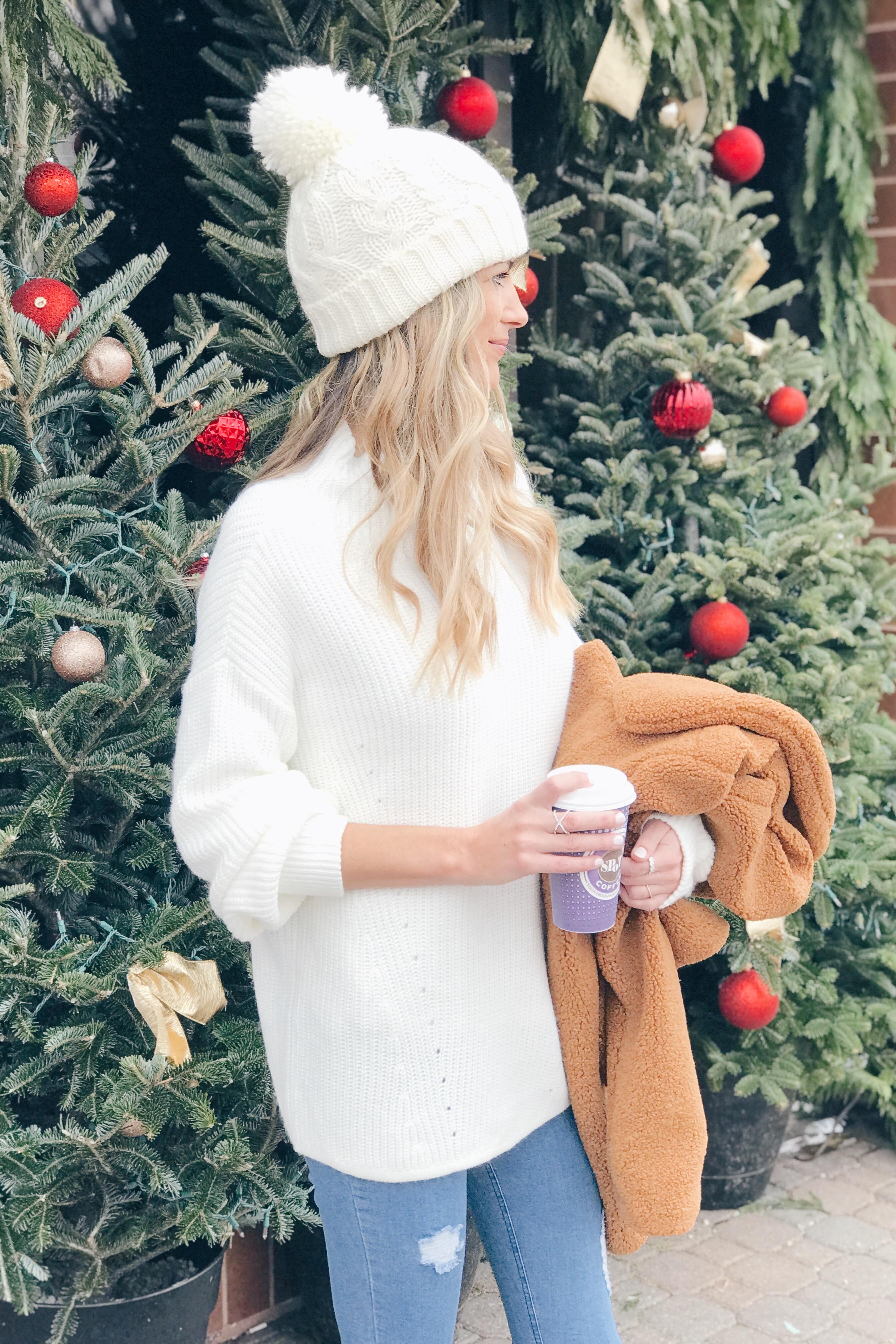 Teddy Bear Coat Outfit Ideas | Connecticut Style Blog
