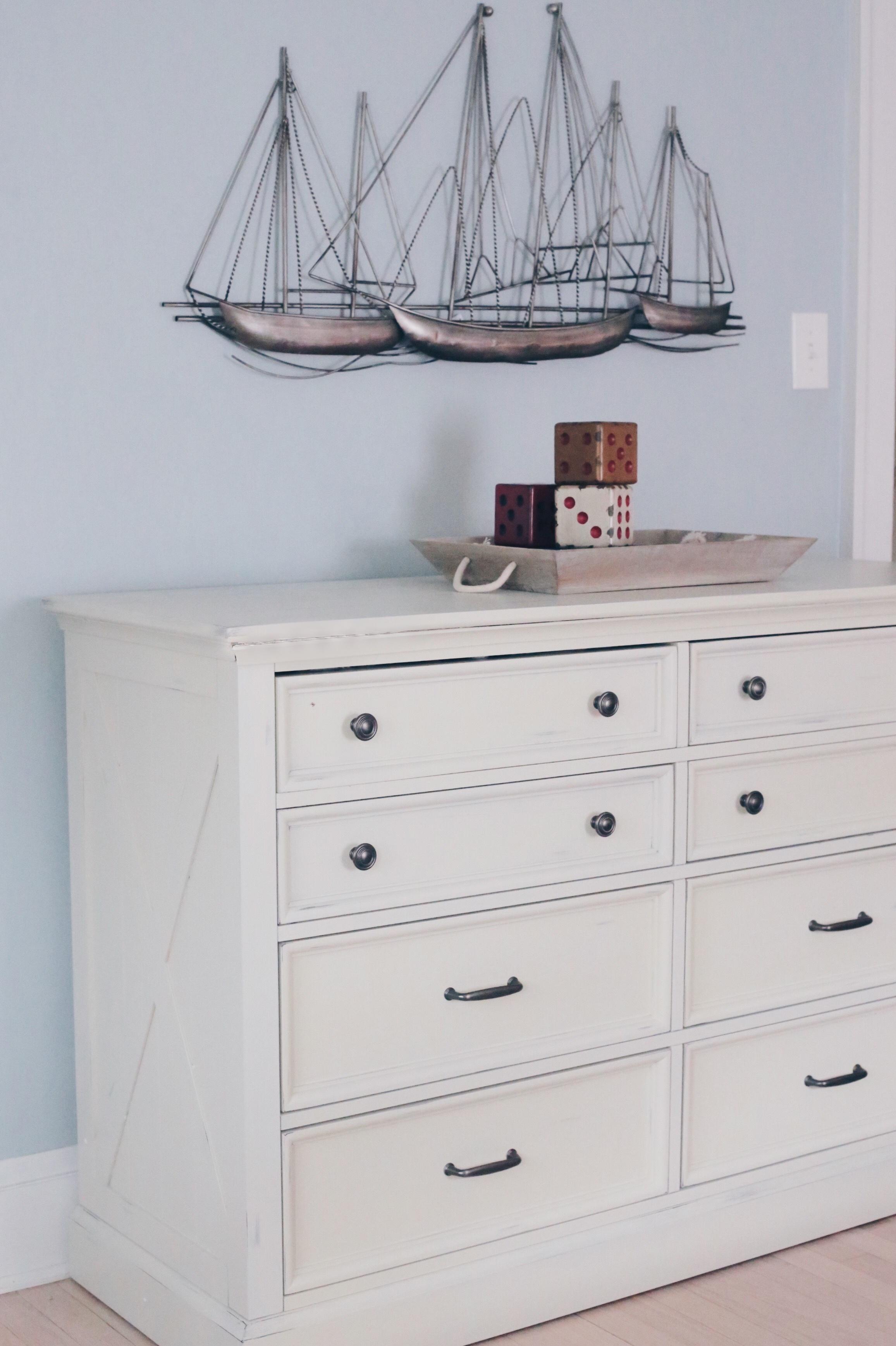 boys bedroom ideas - white dresser on pinteresting plans blog