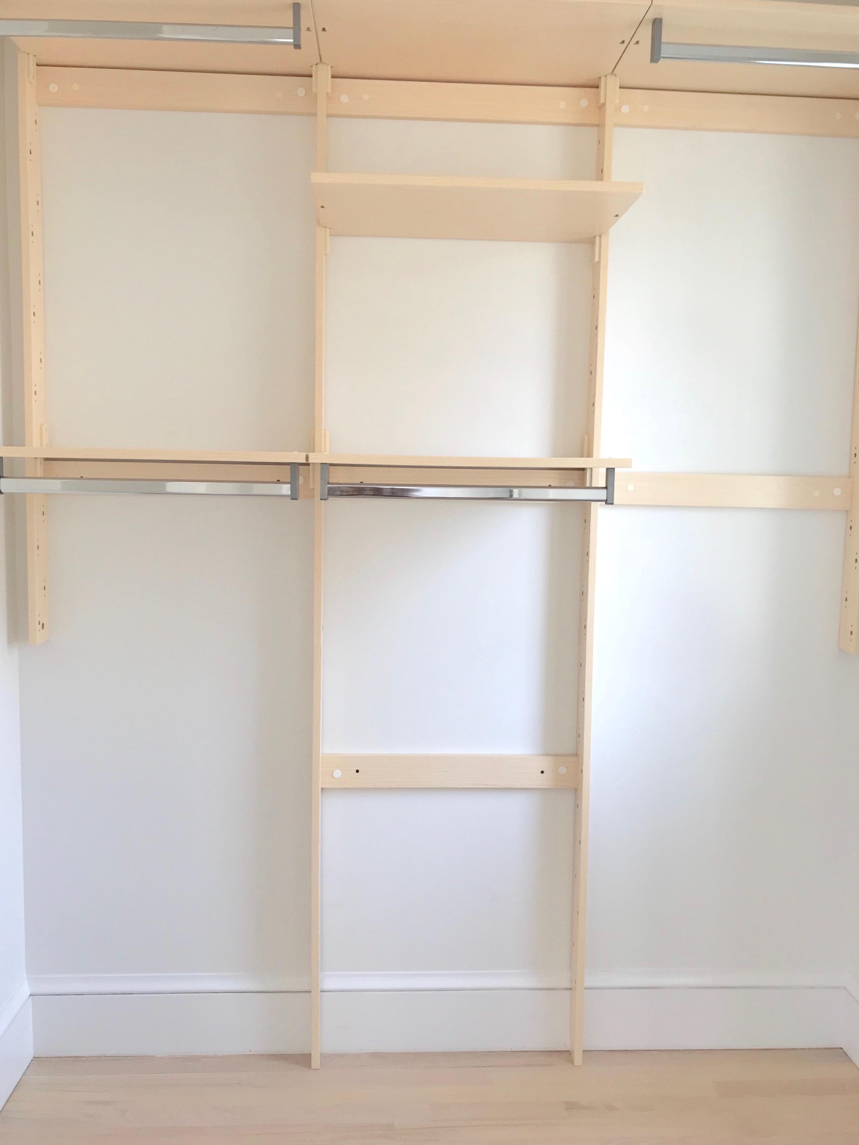 closet organization for small walk in closets on pinteresting plans fashion blog