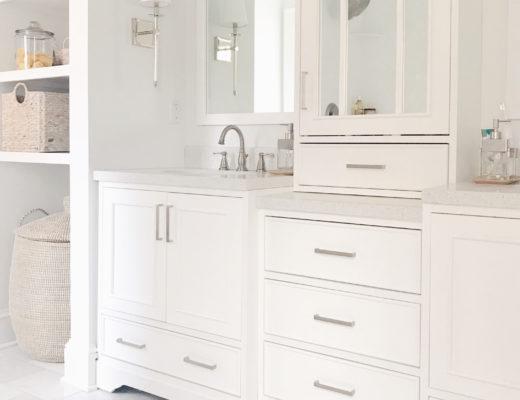 white bathroom vanity with tower on pinteresting plans blog