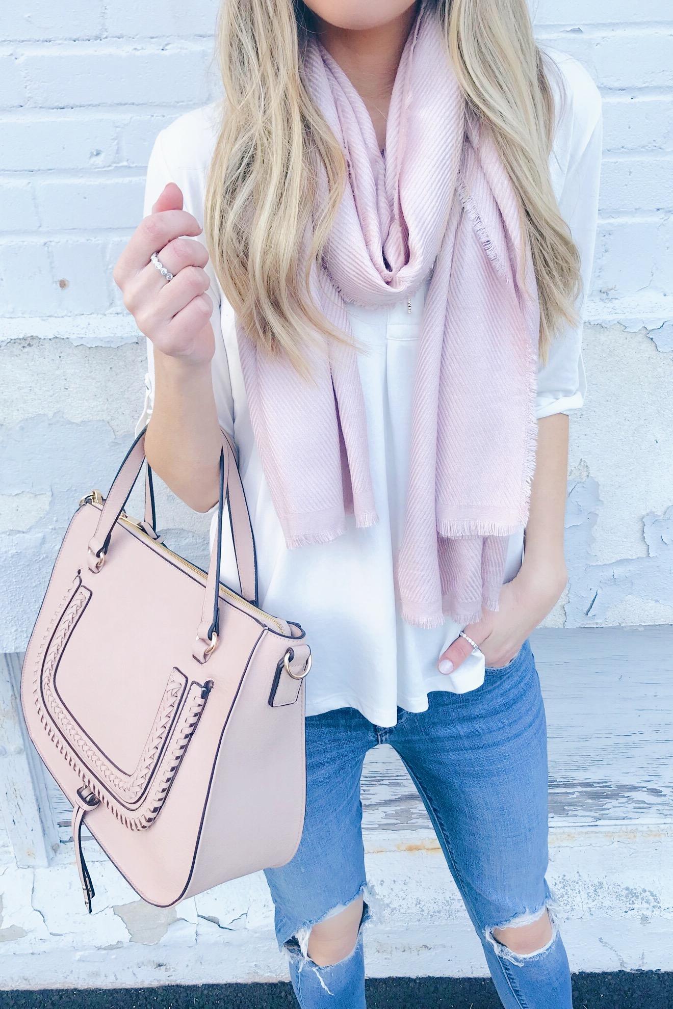 Spring Handbags 2019 - pink Sole Society satchel on pinteresting plans blog