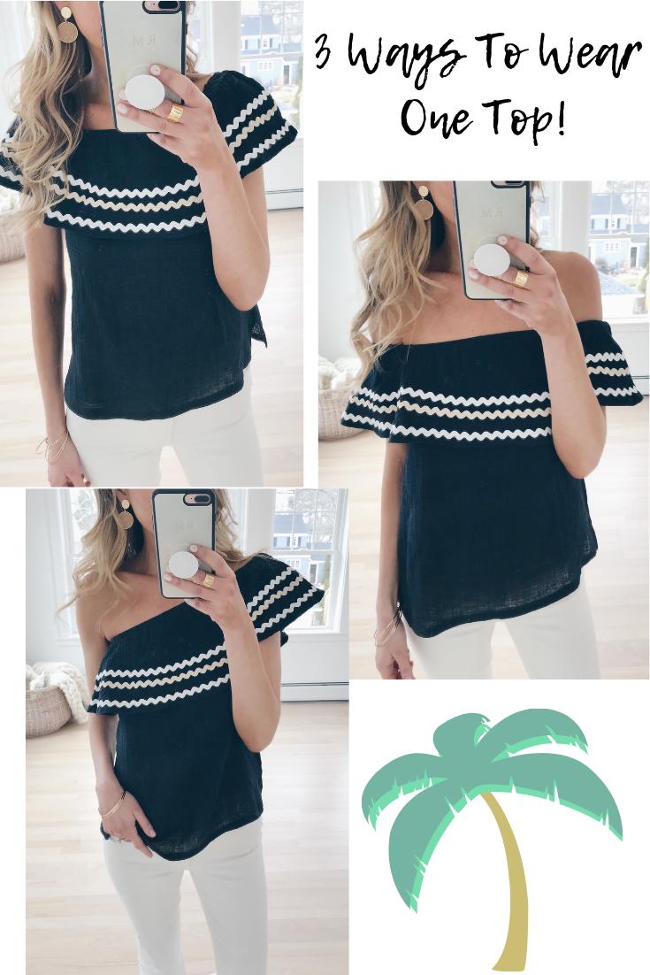 resort wear 2019 - 3 ways to wear one top on pinterestingplans connecticut fashion blog