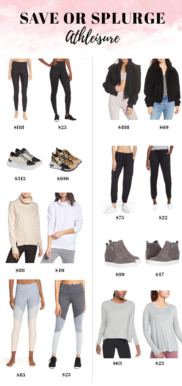 Save or Splurge: Athleisure Style | New England Style