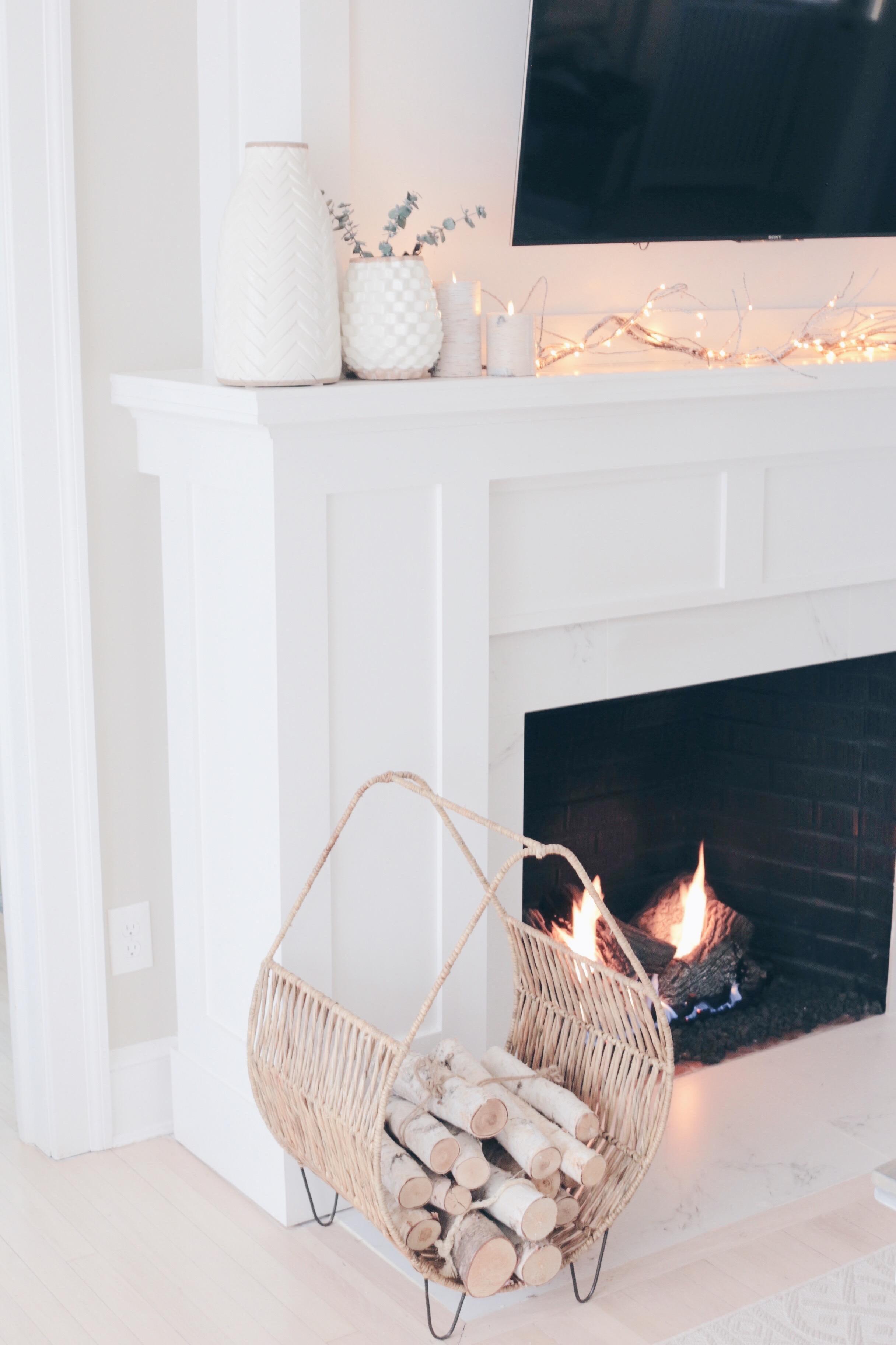 winter fireplace home decor on pinteresting plans blog