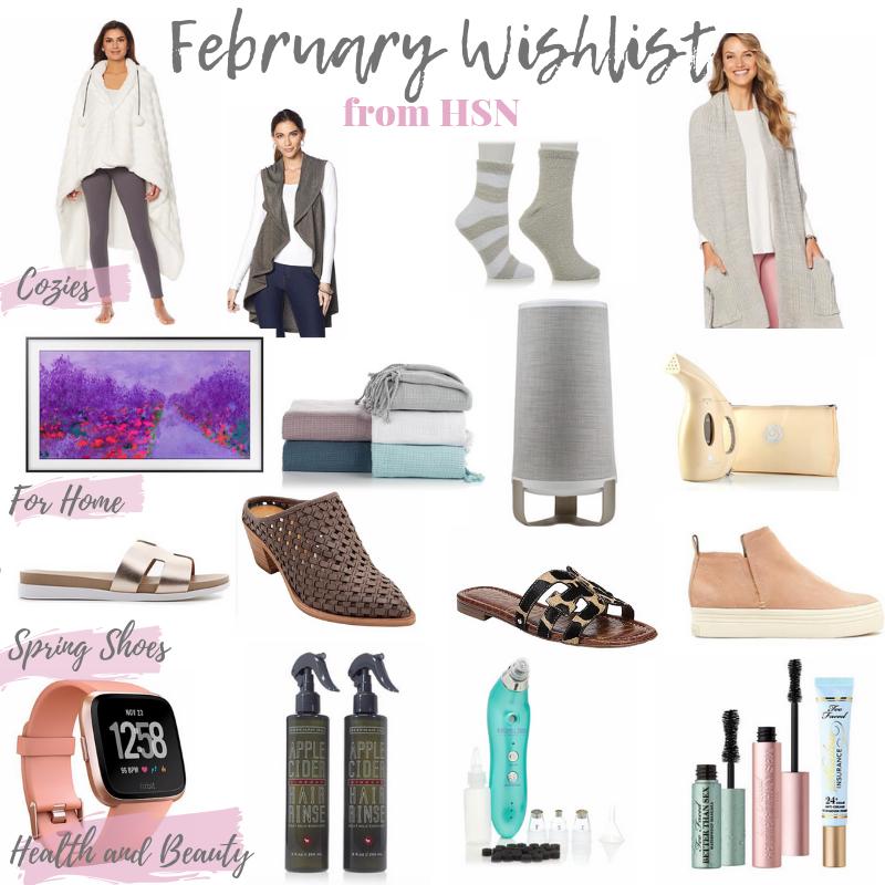 February Wishlist from HSN on Pinteresting Plans fashion blog