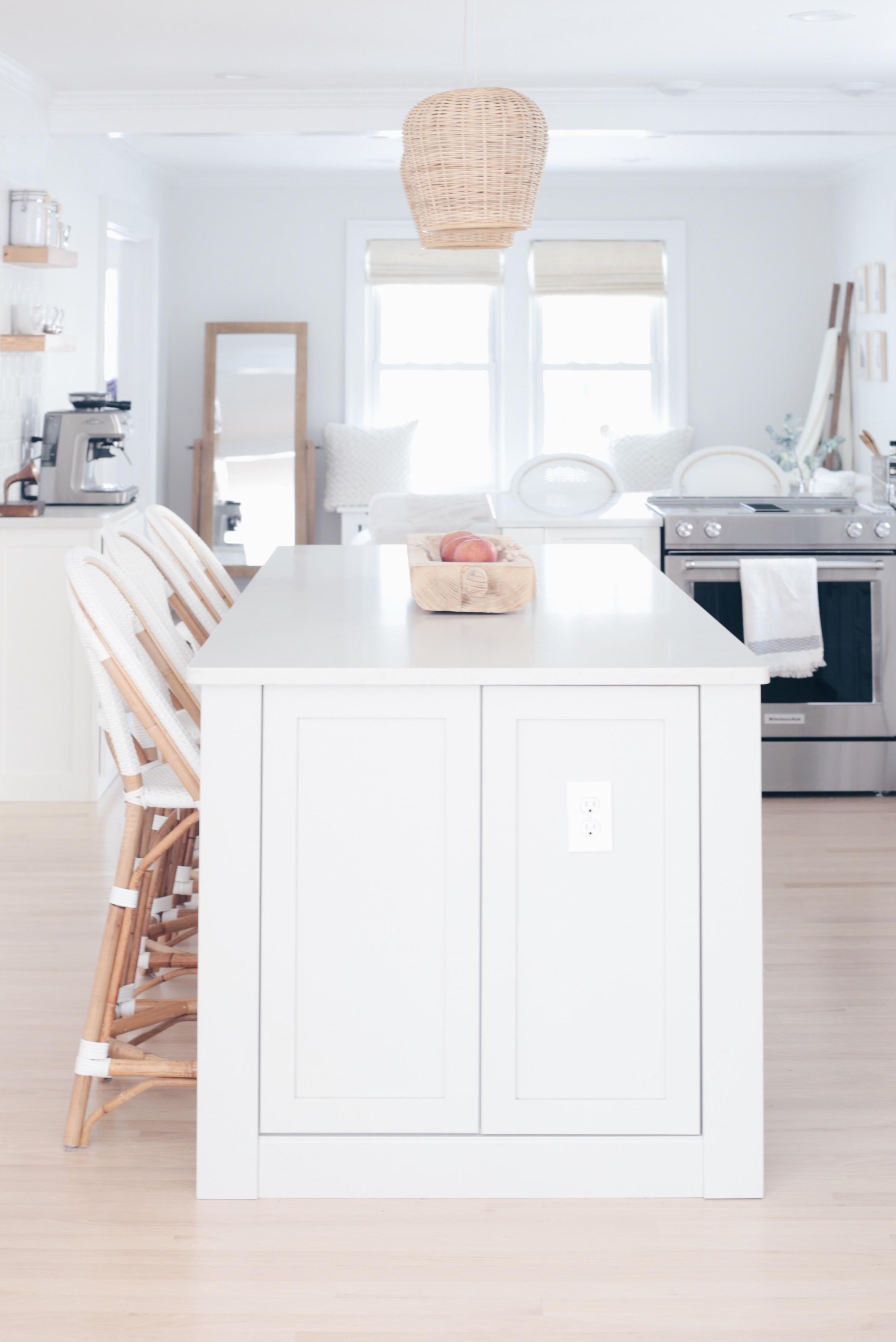 MUST READ - Number 1 tip when planning a kitchen renovation - coastal kitchen island