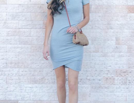 Affordable Spring Dress Options - Light Blue Dress