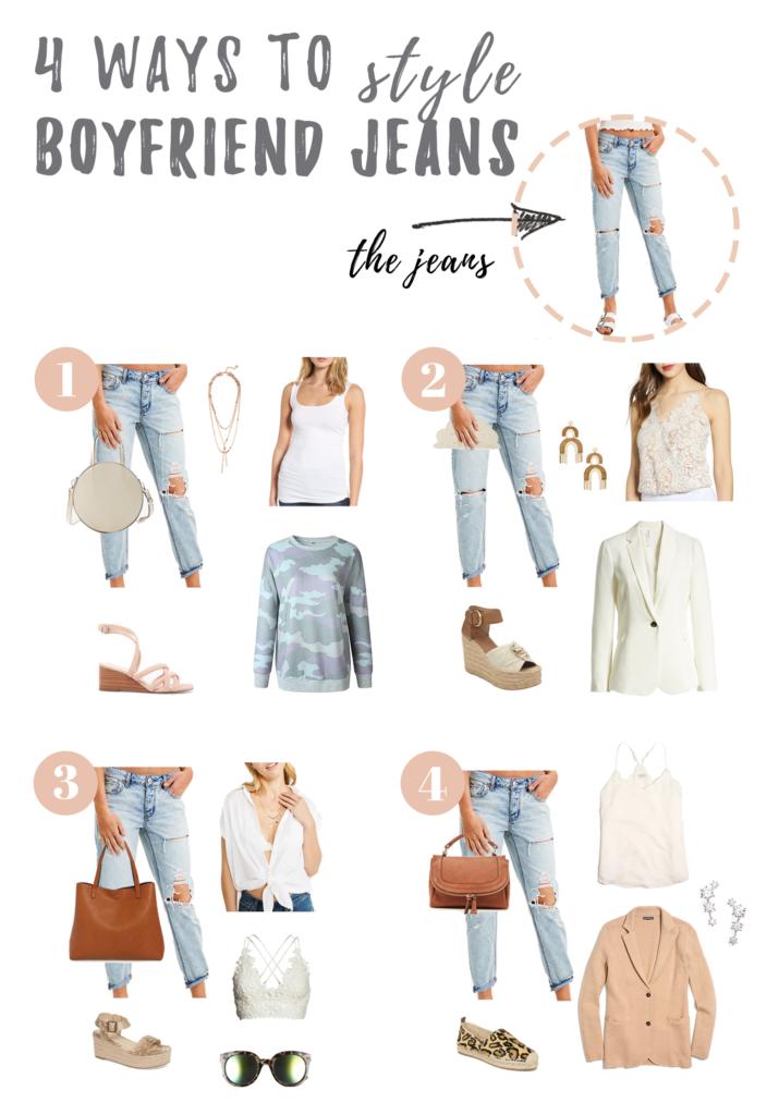 4 Ways to Style Boyfriend Jeans   How to Wear Women's Boyfriend Jeans