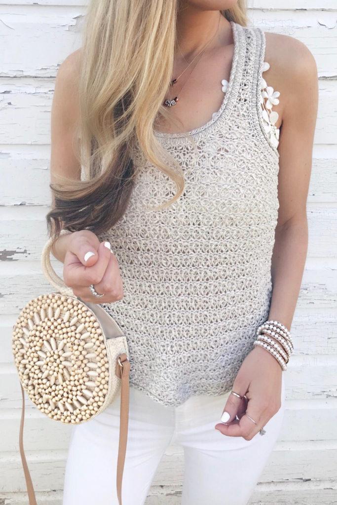 beaded wrap bracelets on sale - sweater tank with bralette on pinteresting plans fashion blog