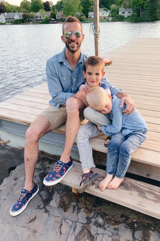 men's memorial day outfit - summer beach shoes - pinteresting plans connecticut fashion blog