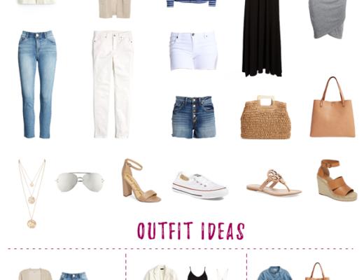 Summer Capsule Wardrobe 2019 | New England Style Blog