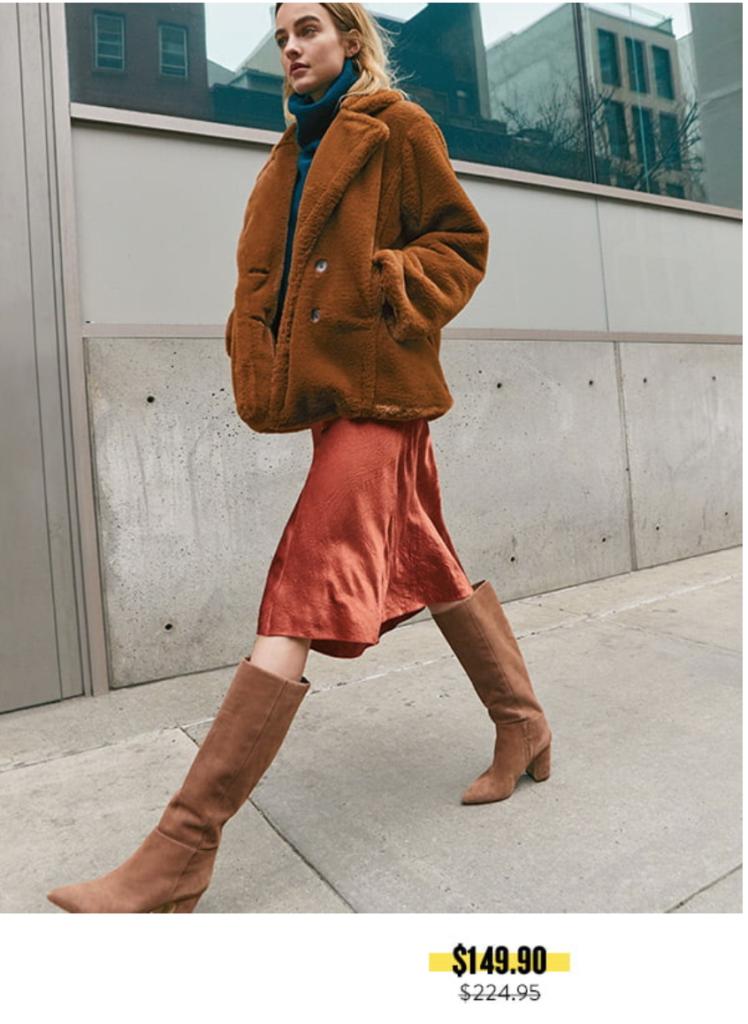 nordstrom anniversary sale 2019 knee high brown suede boots - pinteresting plans blog's picks