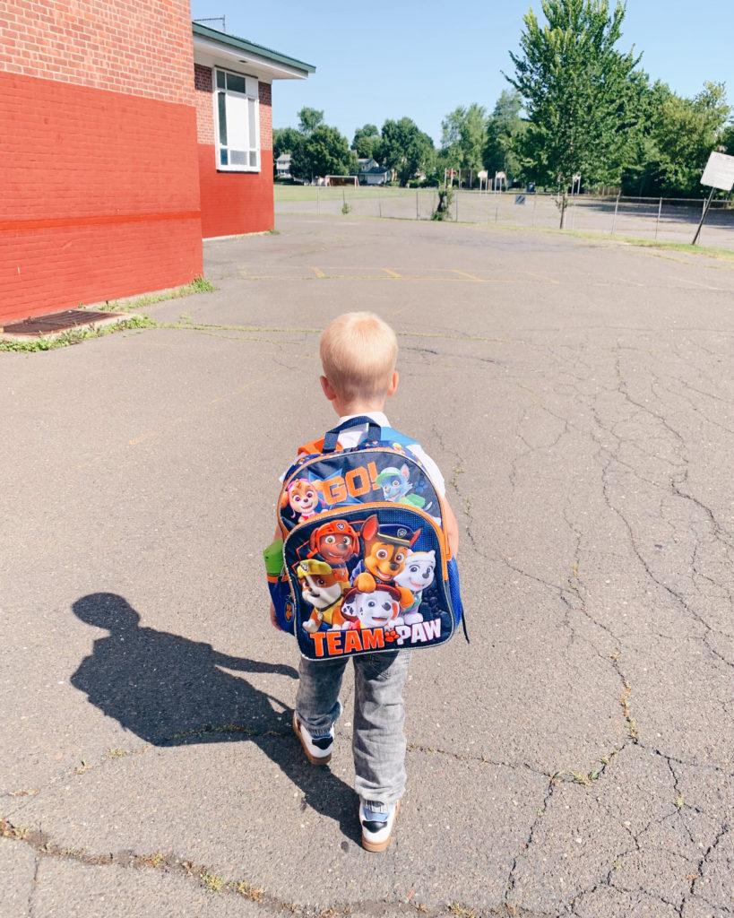 paw patrol backpack - back to school shopping tips - pinteresting plans blog