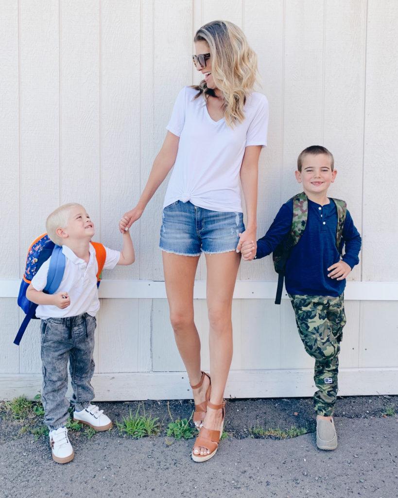 back to school shopping tips - boy mom