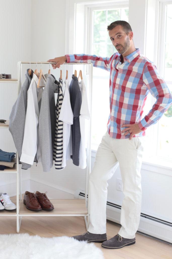 men's fall outfits - plaid shirt - fall  capsule wardrobe 2019 - pinteresting plans