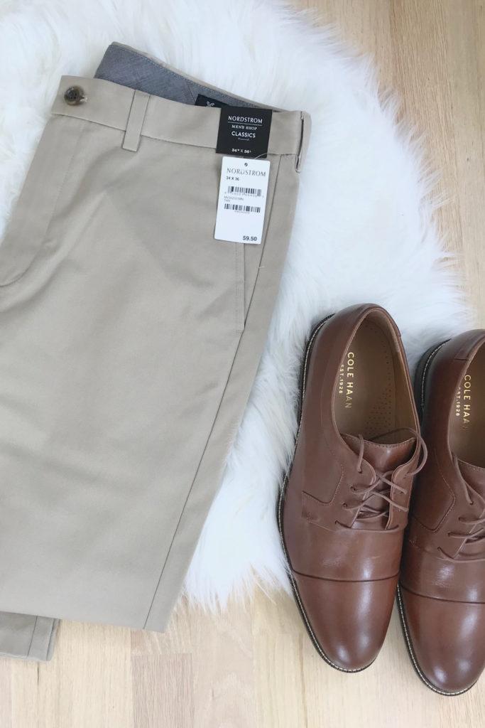 men's fall capsule wardrobe 2019 - dress pants and shoes - pinteresting plans blog