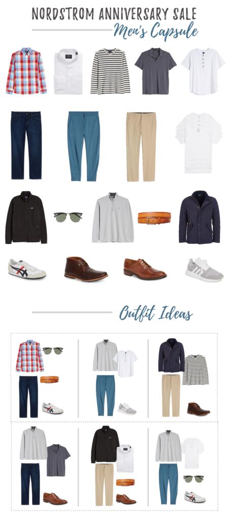 men's fall capsule wardrobe 2019 - nordstrom anniversary sale - pinteresting plans blog