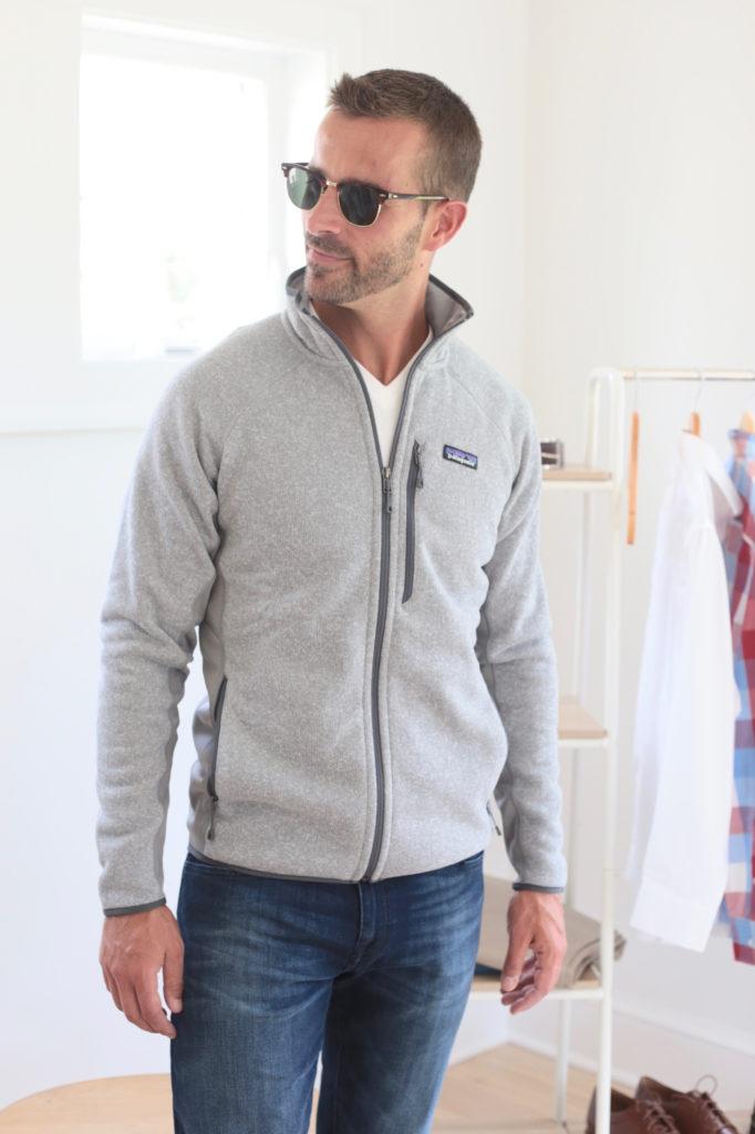 men's fall capsule wardrobe 2019 - patagonia jacket - pinteresting plans fashion blog