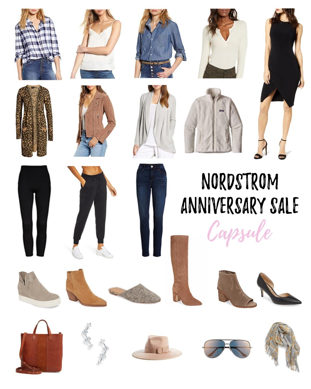 nordstrom anniversary sale 2019 fall capsule wardrobe - pinteresting plans blog