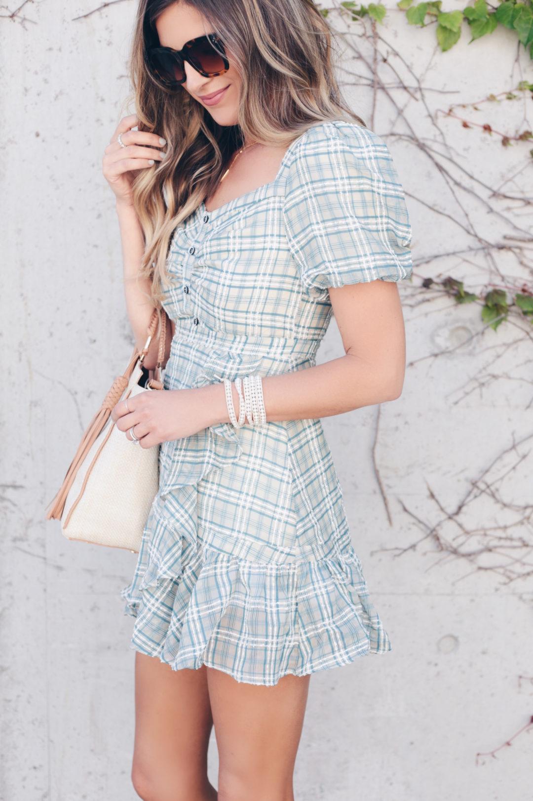 statement print summer dress - pinteresting plans fashion blog