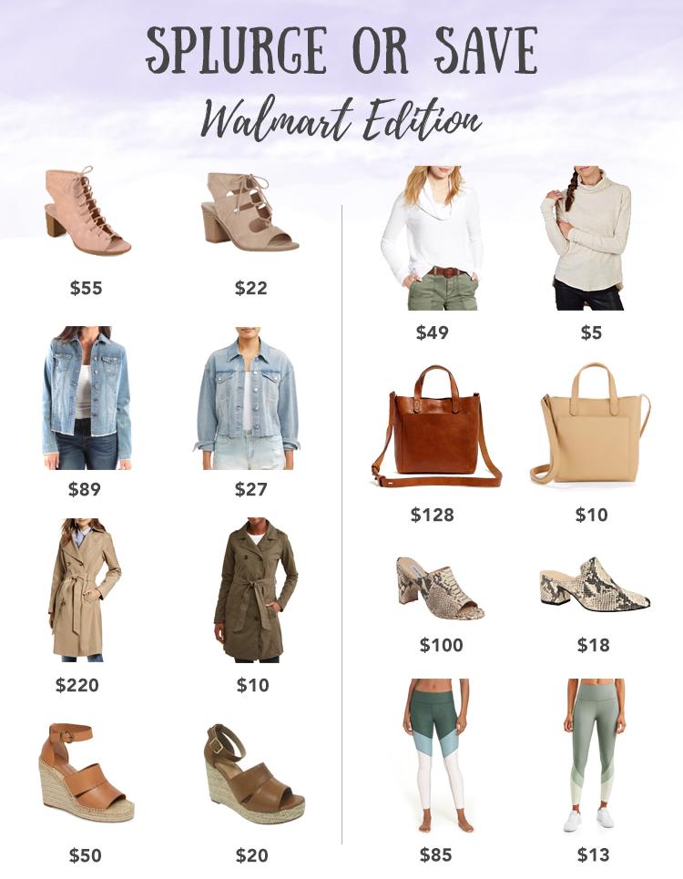 save or splurge walmart edition - pinteresting plans blog