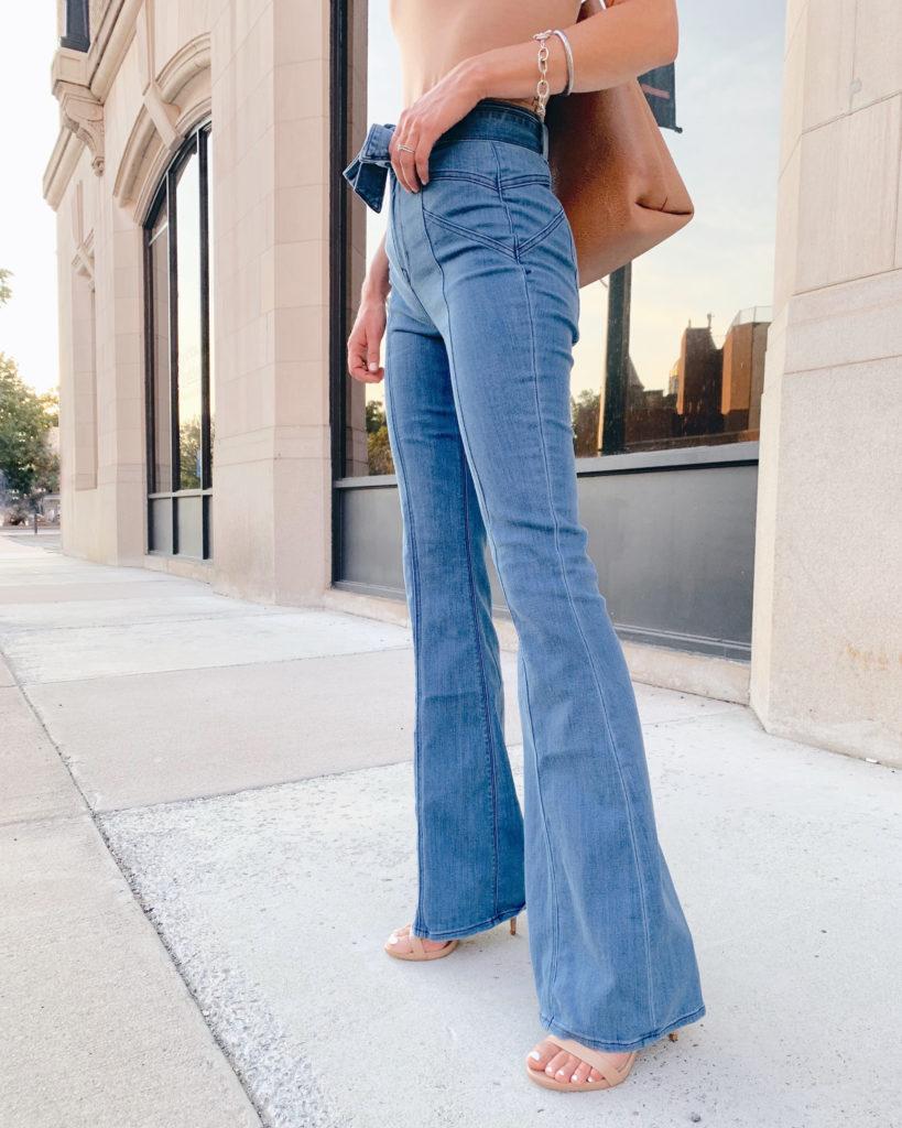 Wide Leg Jeans for Long Legs