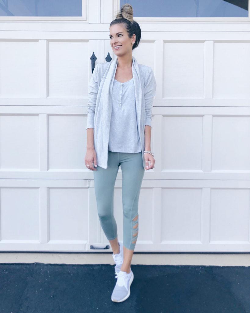 Jockey womens gray easy travel cardigan athleisure wear - pinteresting plans blog
