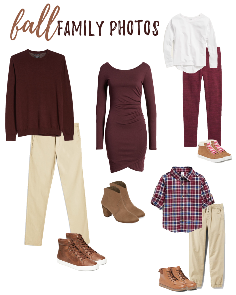 fall family outfit ideas for mom dad and kids