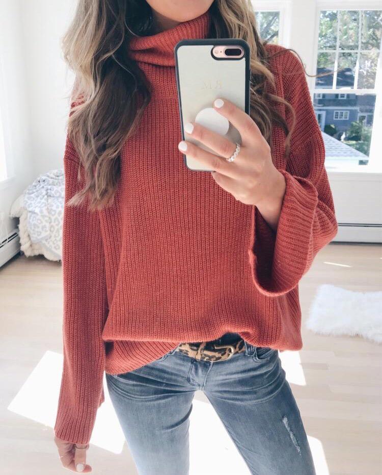 pinteresting plans amazon funnel neck oversized sweater
