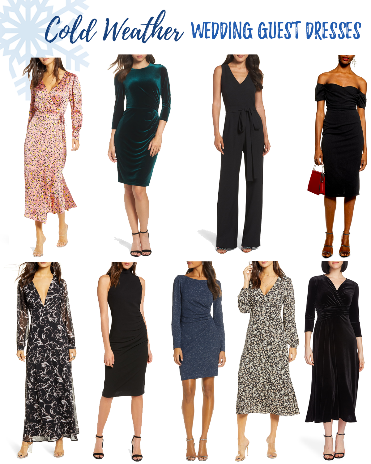 Cold Weather Wedding Guest Dresses
