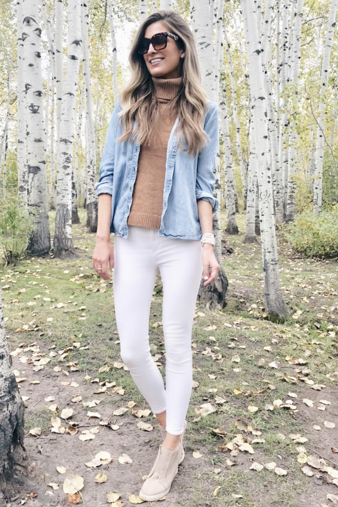 casual fall teacher outfit inspiration - pinteresting plans blog