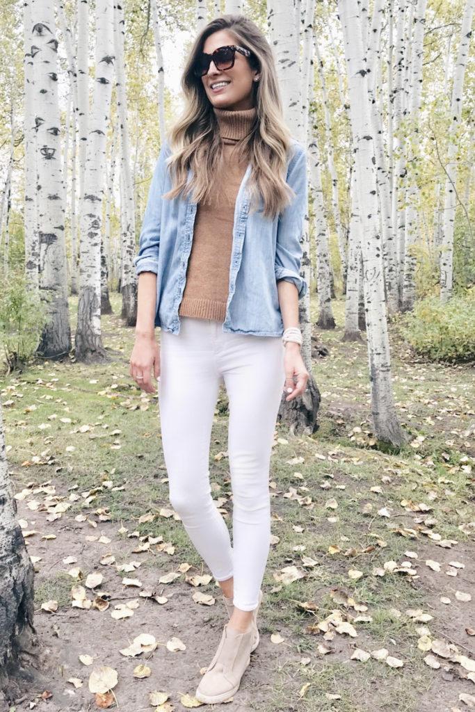 casual fall teacher outfit inspiration - pinteresting plans blog