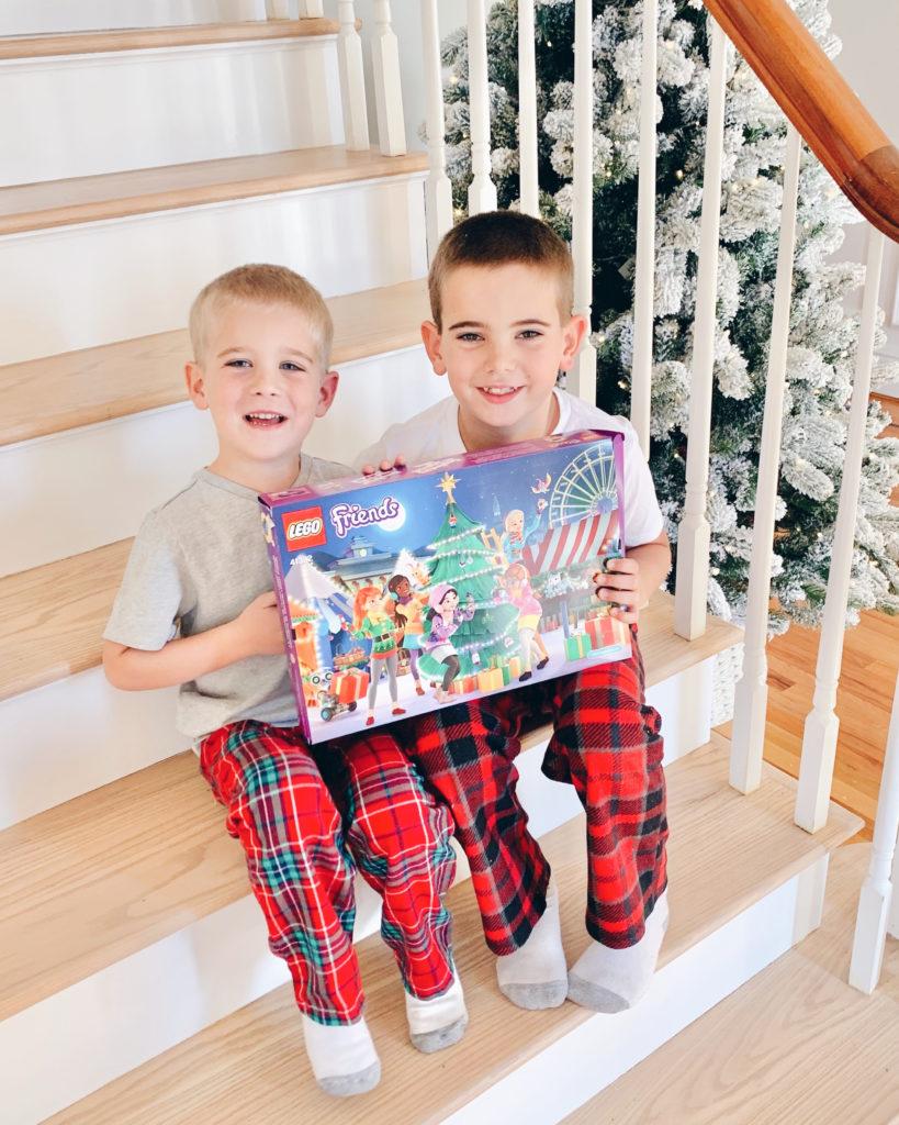 lego advent calendar - teaching kids about giving - pinteresting plans blog