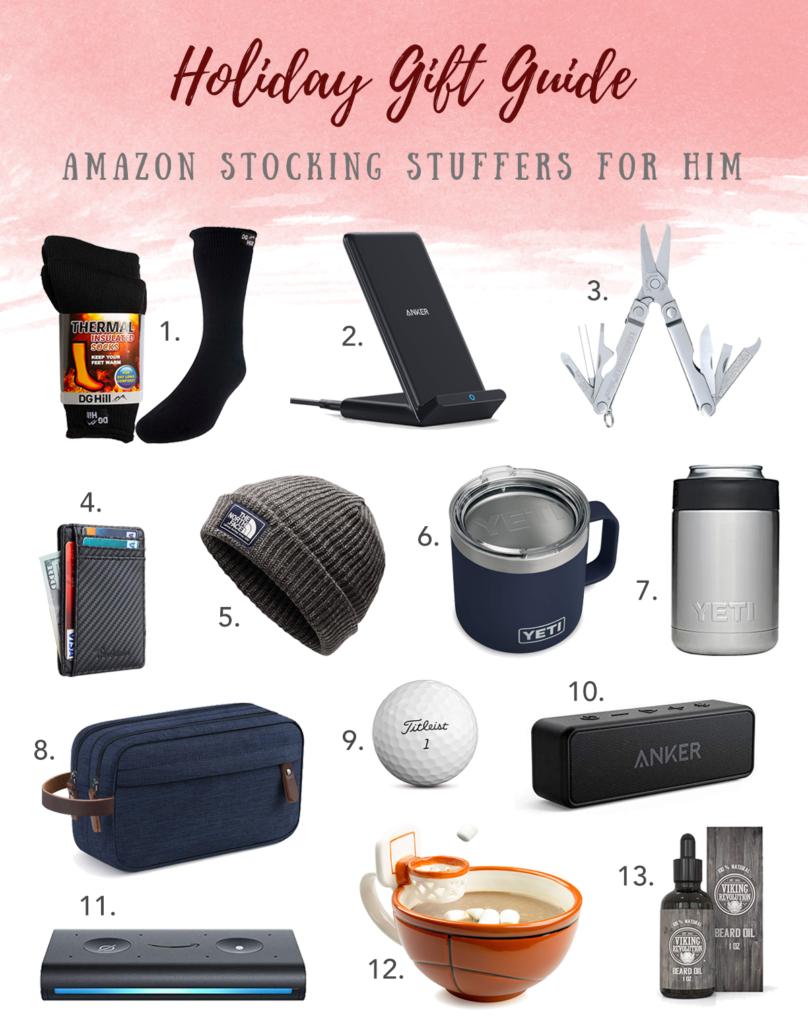 Affordable mens amazon home tech travel stocking stuffer gift ideas for him on Pinteresting plans fashion blog