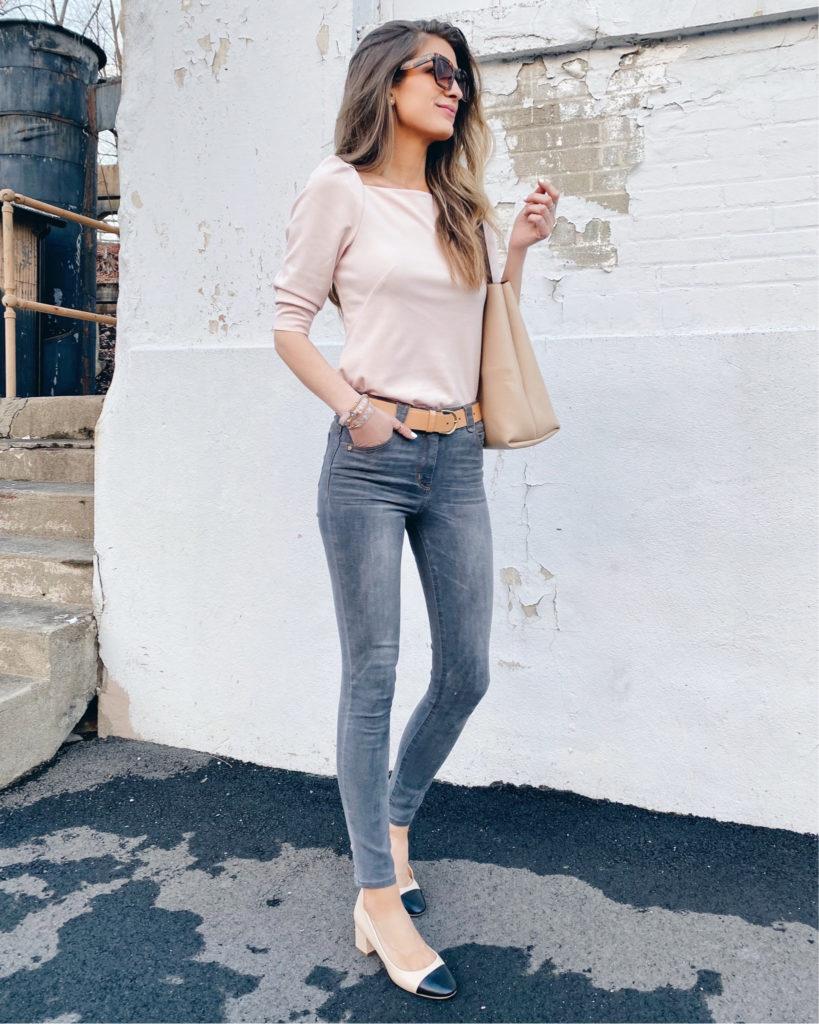 spring trends 2020 - puff shoulder tops on pinteresting plans fashion blog