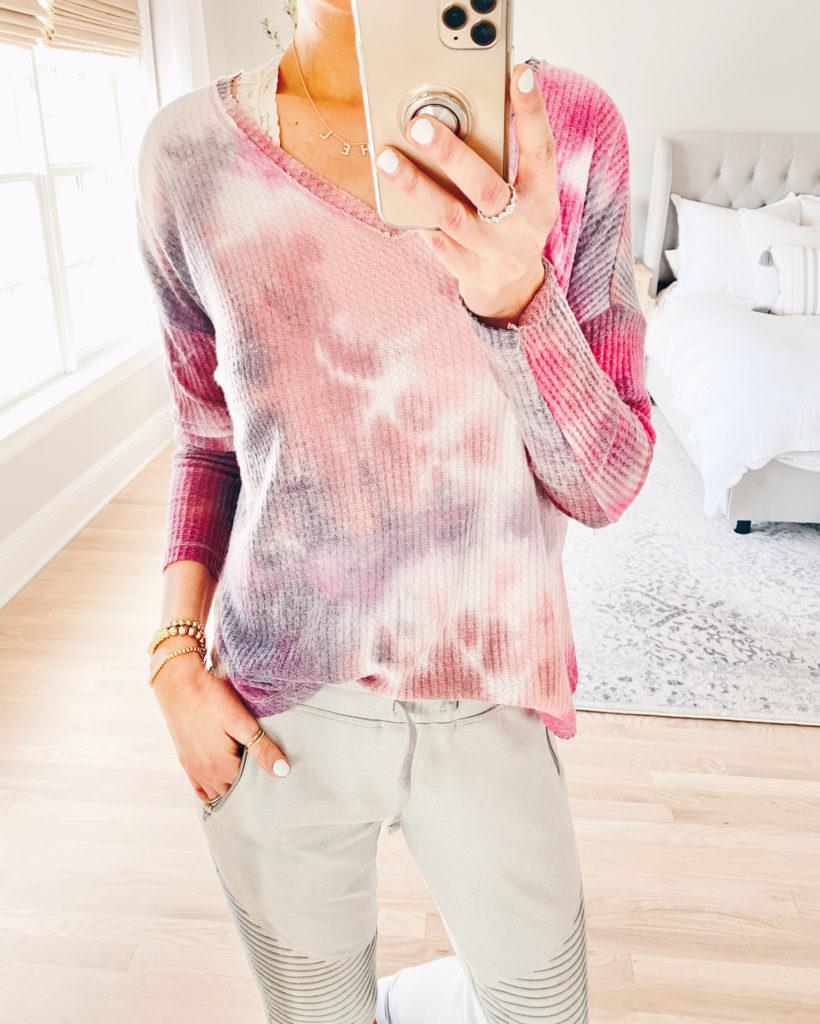spring trends 2020 - tie dye print on pinteresting plans fashion blog