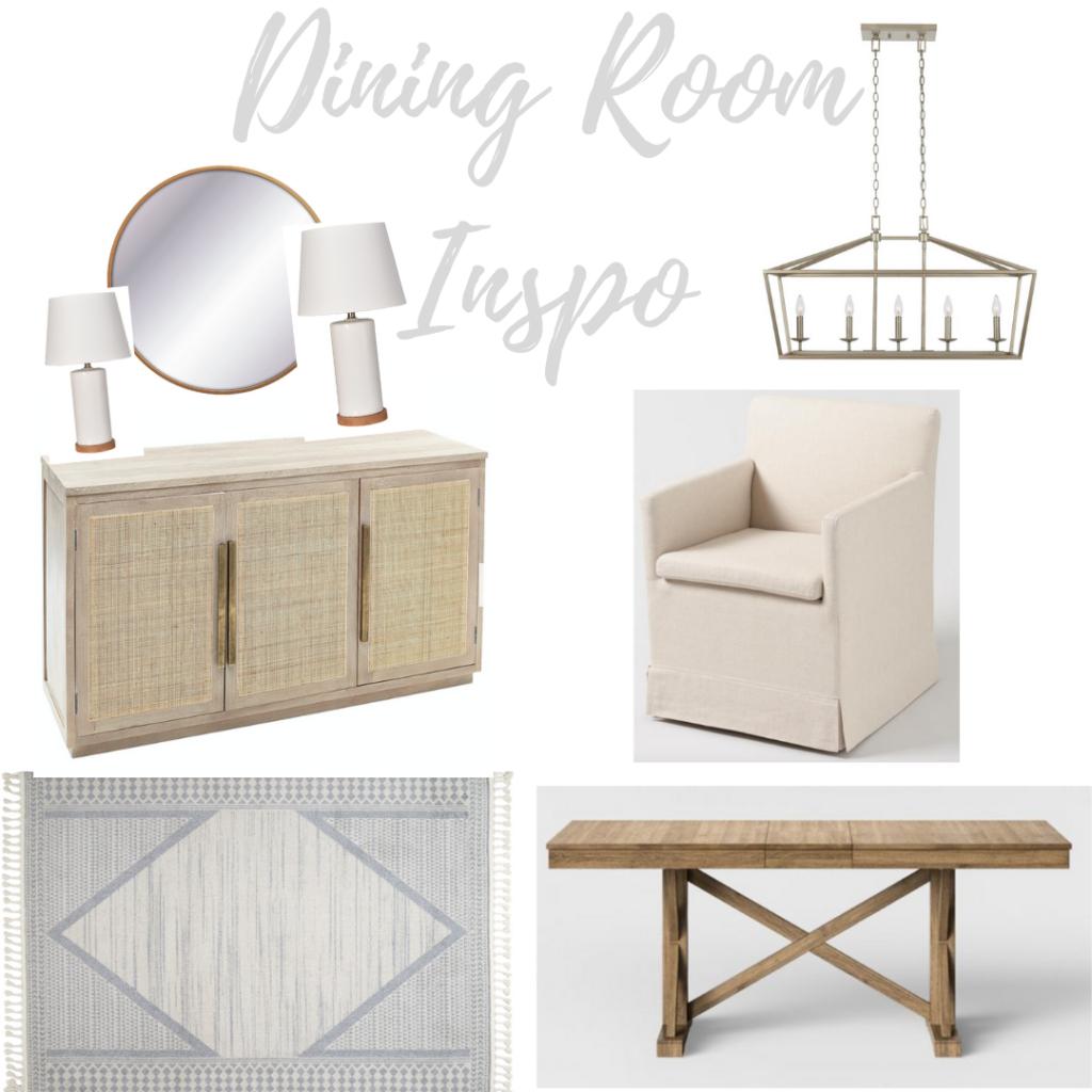 neutral dining room design inspiration