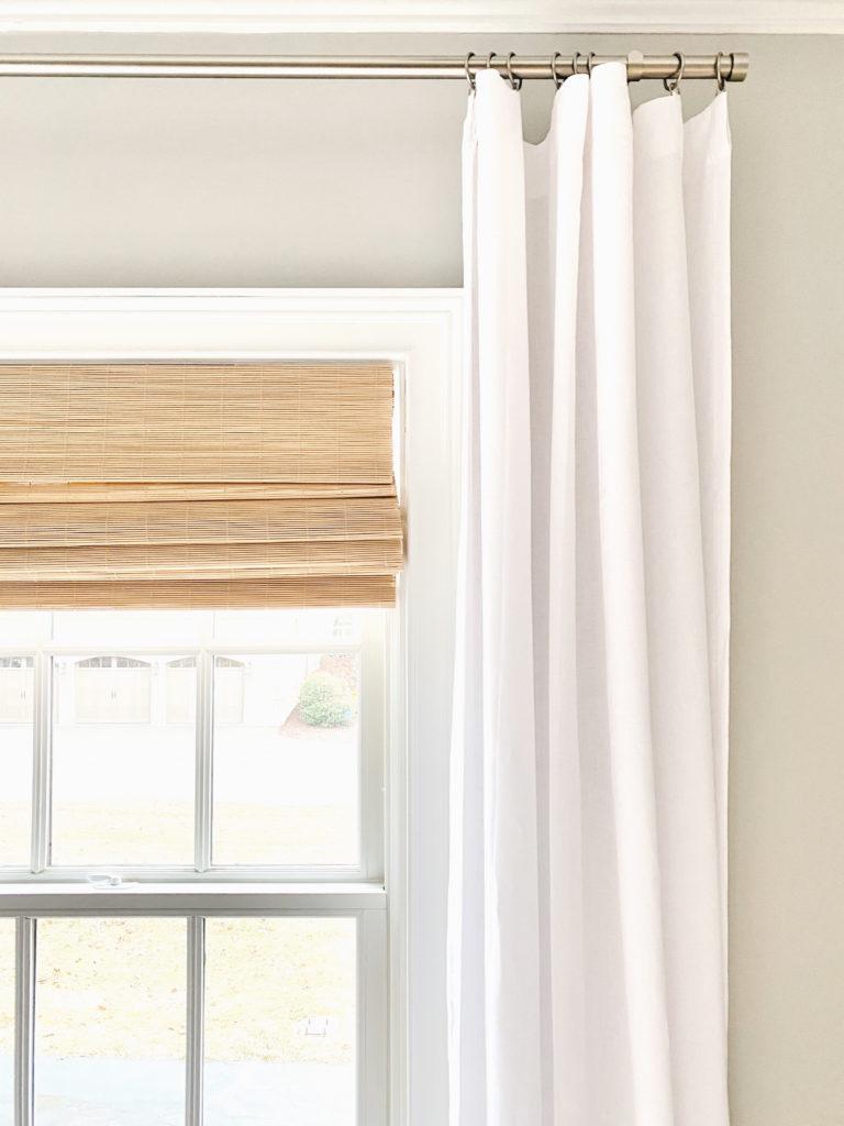 window treatments in modern master bedroom - pinteresting plans blog