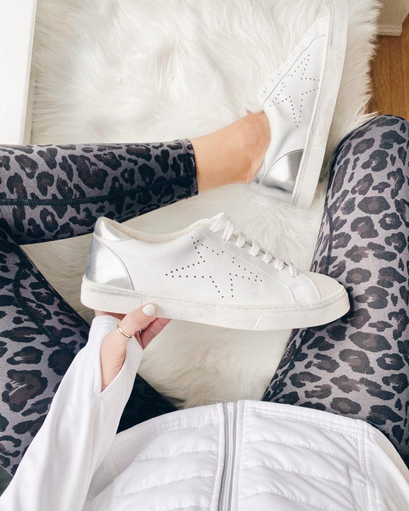 fashion sneakers with leopard leggings - pinteresting plans fashion blog