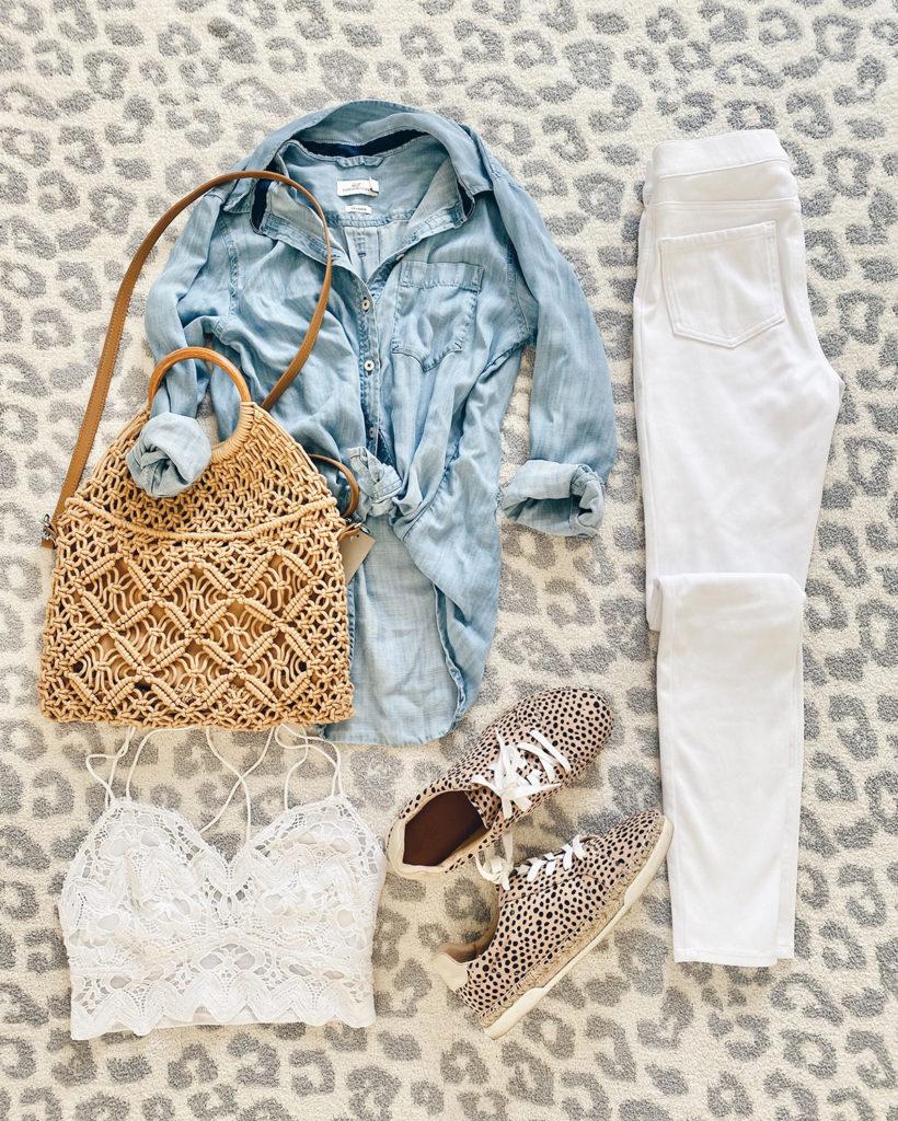 how to style white jean leggings for spring on pinteresting plans blog