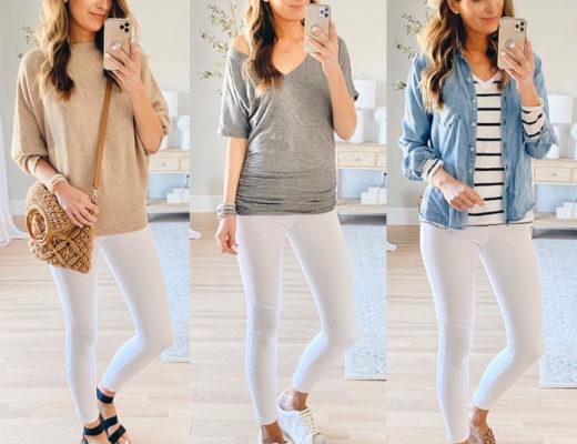 spanx white jeanish leggings in tall sizes on pinteresting plans fashion blog