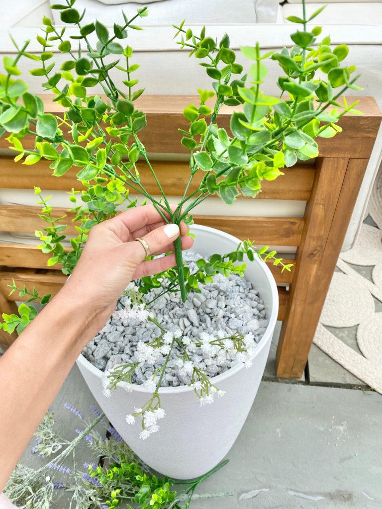 using artificial plants outdoors - pinteresting plans blog