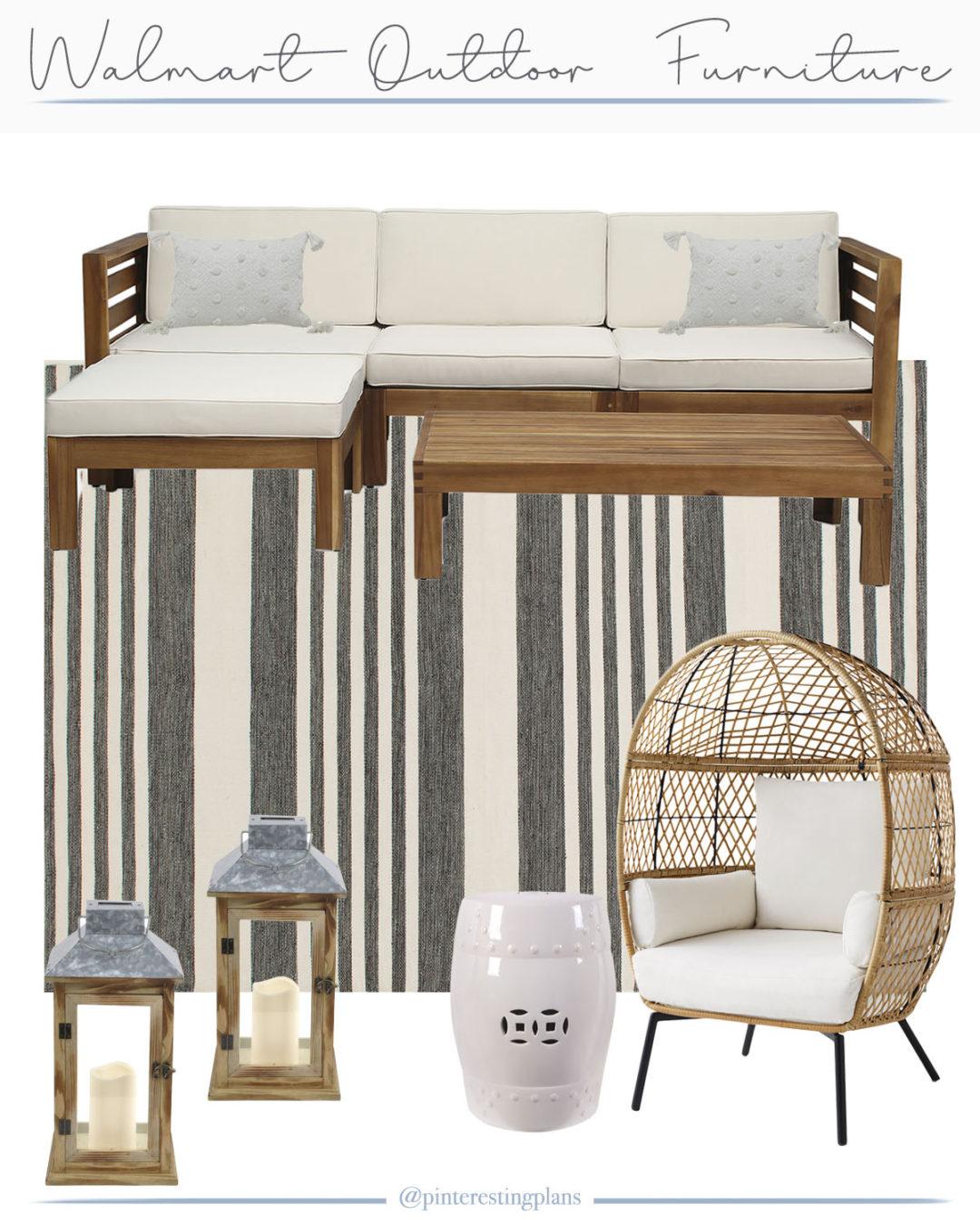 walmart patio furniture and decor