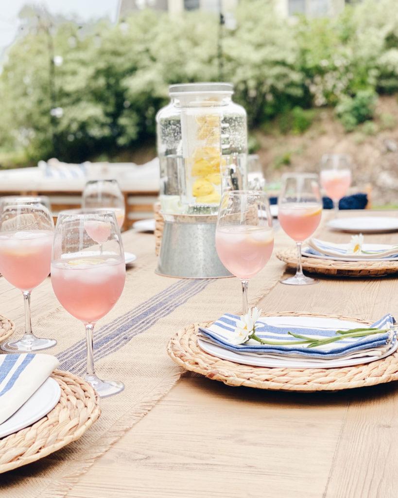 coastal patio outdoor dining inspiration