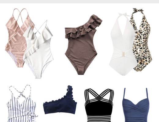 best one piece amazon swimsuit roundup on pinteresting plans fashion blog