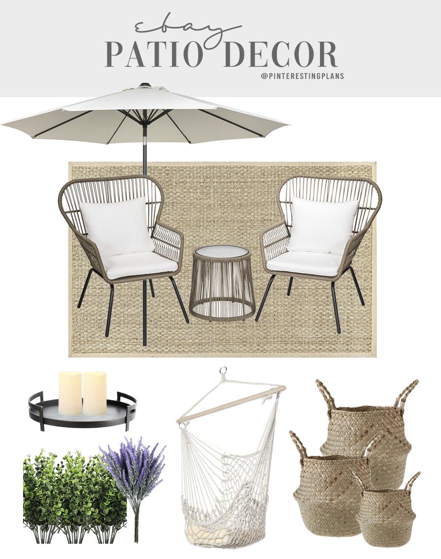 outdoor home patio decor idea from ebay