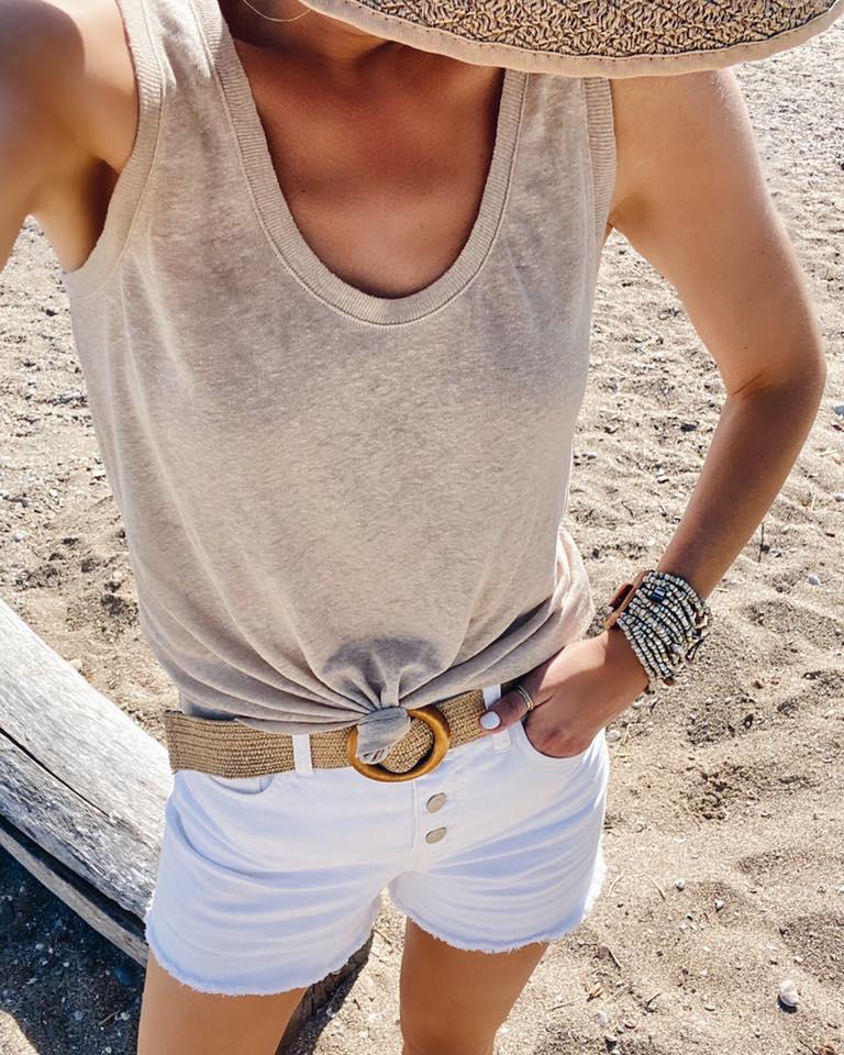 summer statement woven belt - amazon bestseller on pinteresting plans fashion blog