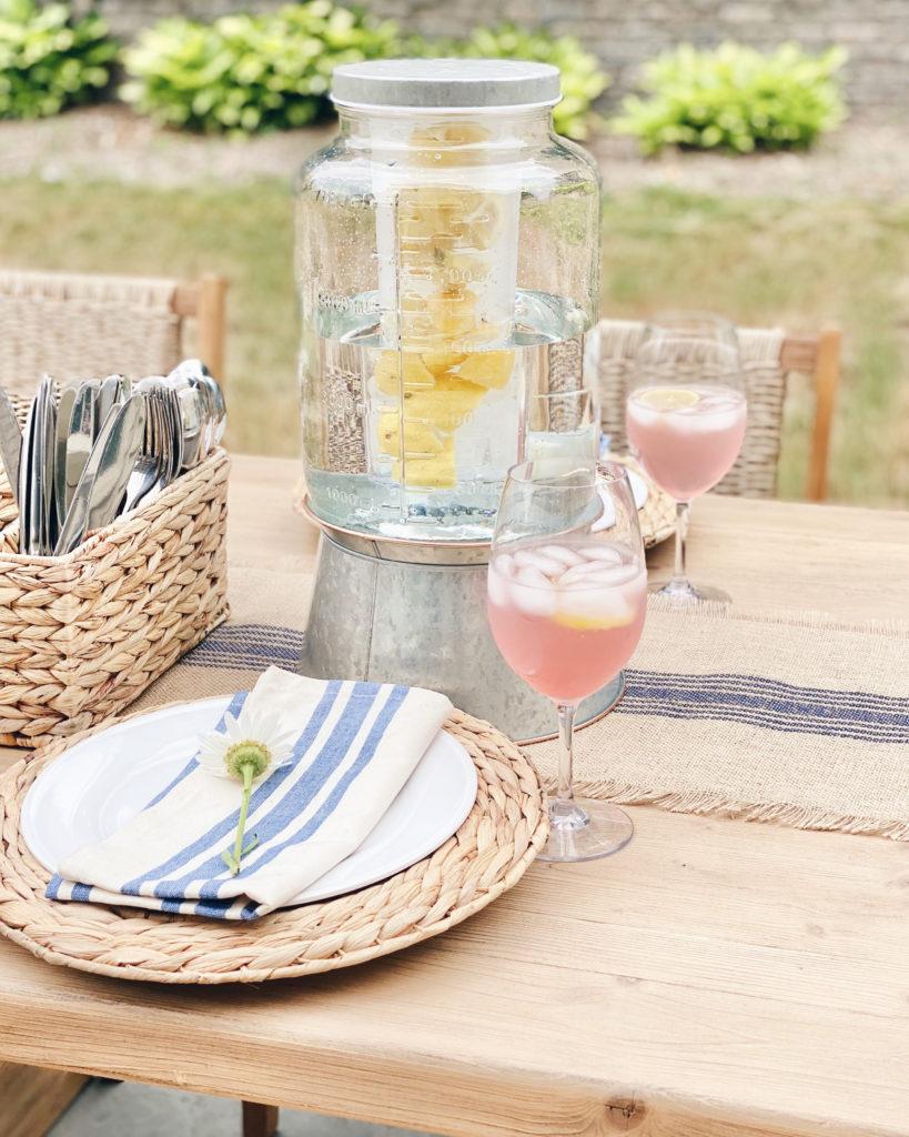 summer outdoor dining ideas - pinteresting plans blog