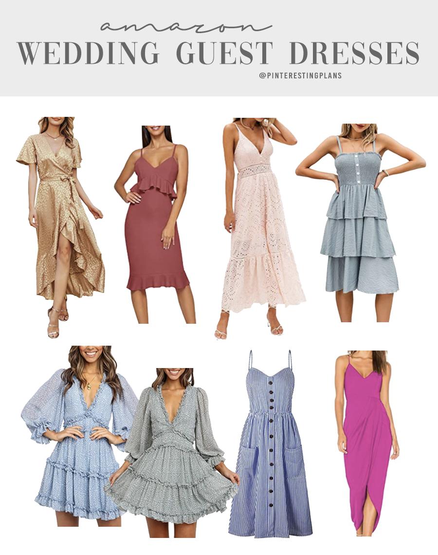 Summer Wedding Guest Dresses From Amazon Pinteresting Plans,Vintage Style Mermaid Lace Mermaid Wedding Dresses